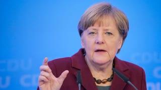 Merkel vul leschas pli severas