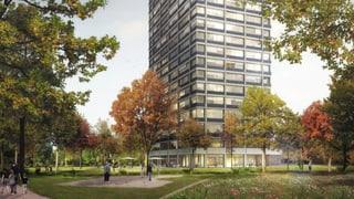 HRS baut Hochhaus auf Saurer-Areal