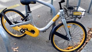 Billigfahrräder in Zürich ausgebremst