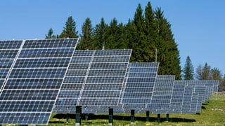 Sonnenkraftwerk auf dem Mont Soleil liefert weniger Strom