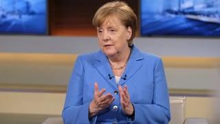 Merkel kündigt Massnahmen gegen US-Zölle an