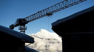 Zweitwohnungsinitiative: Mehr Arbeitslose im Wallis