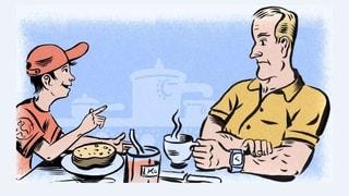 Heiter in den Tag: Die vierte Staffel «Timo und Paps»