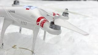 Fangnetz holt Drohnen vom Himmel