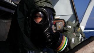 Schweizer Firma will syrische Chemiewaffen zerstören