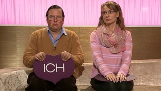 Herr und Frau Schneuwly so gar nicht harmonisch (Artikel enthält Video)