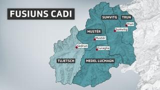 Iniziants fusiun Cadi: «Tujetsch serra ils egls a la realitad»