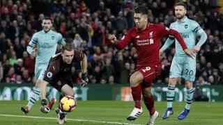 Liverpool zerlegt auch Arsenal