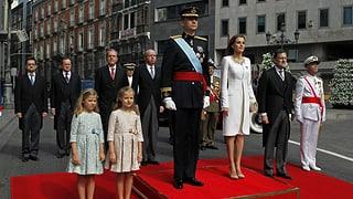 Verbrennung eines Königsporträts ist in Spanien ein Vergehen