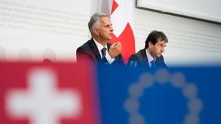 Aussenminister Didier Burkhalter hat den weiteren Fahrplan in der Europa-Politik dargelegt. Das war die Medienkonferenz im Liveticker.