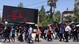 Ramallah trauert um getötete Palästinenser