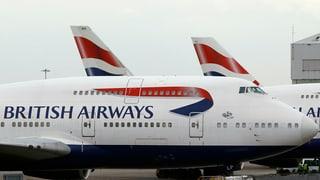 British-Airways-Maschinen weltweit mit Verspätung
