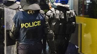 Polizei überwältigt Bewaffneten in Lausanne
