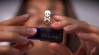 Video «Das Experiment: Wie läuft ein Hacking-Angriff ab?» abspielen