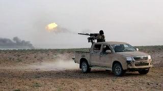 Brutales Vorgehen des IS in Palmyra