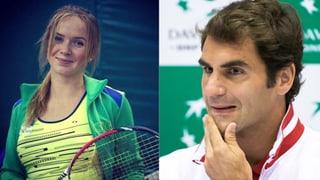 Schlag ins Gesicht: Diese Ukrainerin lässt Federer alt aussehen