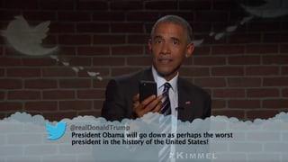 «Obama könnte nicht mal einen Whopper ohne Gurke aushandeln»