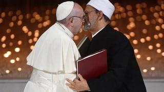 Papst ruft alle Religionen zu Einsatz gegen Terror auf