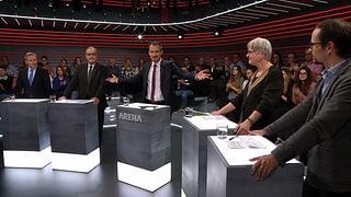 «Arena»: Soll die Schweiz acht Milliarden für Kampfjets ausgeben?