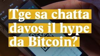 Laschar ir Video «Tge sa chatta davos il hype da Bitcoin?»