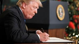 «Donald Trump ist beratungsresistent»