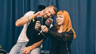 Festival-Challenge: Selfie-Queen Rika jagt die Frauenfeld-Promis