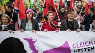 Proteste gegen Diskriminierung auch in der Schweiz