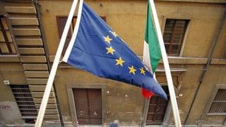 EU und Italien einigen sich im Budgetstreit