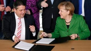 Gabriel: «Das ist ein Vertrag für die kleinen Leute»