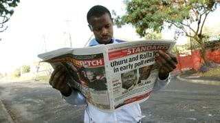 Wahlen in Kenia: Vize-Ministerpräsident liegt vorne