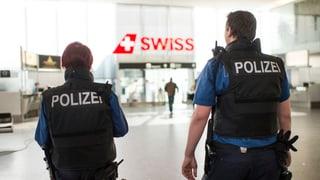 Schärfere Kontrollen an Schweizer Flughäfen