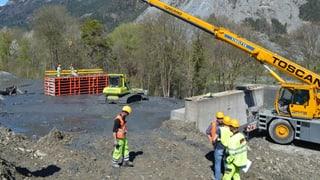 Lage im Val Parghera Tobel spitzt sich zu