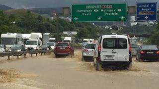 Überschwemmungen in Baselland wegen erneutem Gewitter