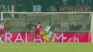 Sierro gleicht per Penalty aus