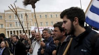 Griechische Bauern streiken weiter