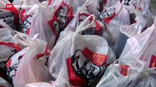 Gaza: Neben Waffen wird neu Kentucky-Fried-Chicken geschmuggelt