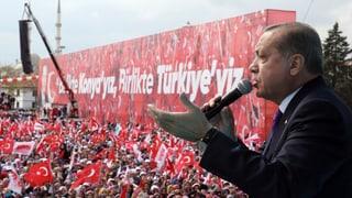 Erdogan rührt ein letztes Mal die Werbetrommel