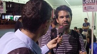 Im Wahlkampf marschiert die griechische Linke getrennt