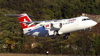 Letzter Jumbolino-Flug der Swiss