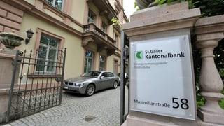 St. Galler Kantonalbank durchleuchtet alle Ausländer