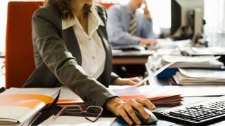 Wenn Frauen in der Führung sitzen – dann meist in der Verwaltung