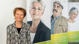 Eveline Widmer-Schlumpf presidiescha Pro Senectute