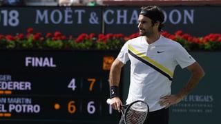 Federer perda final dad Indian Wells