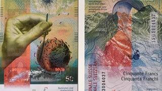 Neue Banknoten: Die Tücken der Technik