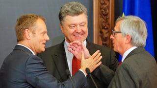 EU ruft Ukraine bei Gipfeltreffen zu Reformen auf