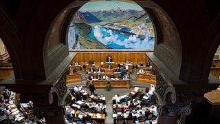 Die drei Bürgerlichen wollen in Bern bleiben