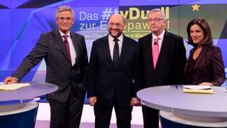 Europawahl-Duell: «Chlorhühnchen? Mit mir nicht!»