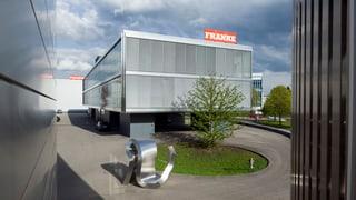 Küchenhersteller Franke in Aarburg mit mehr Umsatz im 2012