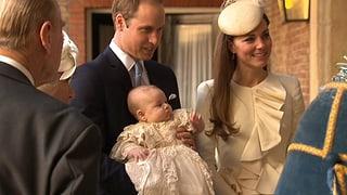 Im traditionellen Kleidchen: Prinz George wurde getauft