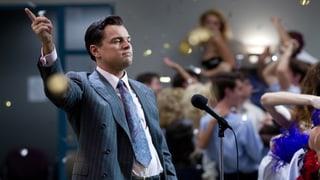 «The Wolf of Wall Street»: Ein Orgienkönig im Schlaraffenland